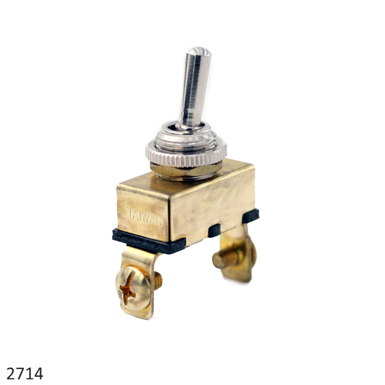 Brass Toggle Switch